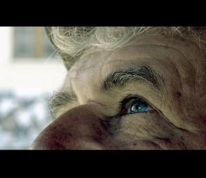 /a idade reflectida no olhar...