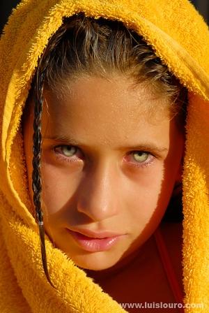 /Os teus olhos verdes