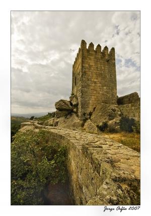 /Nas Ameias do Castelo...