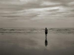 """/""""...e caminhou em direcção ao mar, desejando apena"""