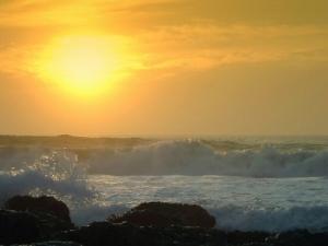 Paisagem Natural/Mar Tranquilo e Selvagem