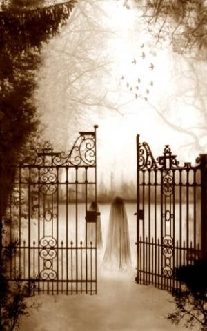 Arte Digital/Cemetery's Keepers