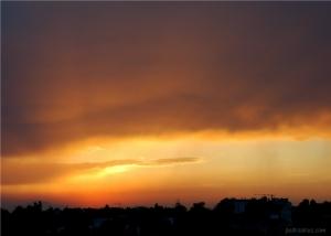 Paisagem Natural/Por-do-Sol vs Tempestade