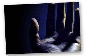 Arte Digital/Mão AZUL
