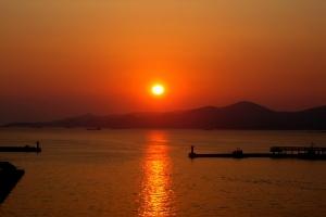 Paisagem Natural/Orange sky