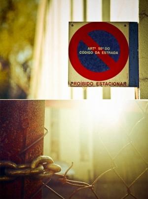 /Do not cross