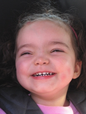 Retratos/Um sorriso angelico