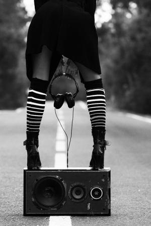 Moda/ao som da fotografia