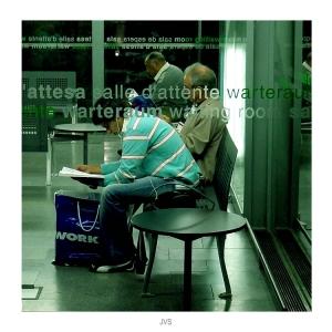 Gentes e Locais/Pessoas esperando