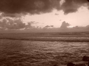 Outros/Praia das Maças - Sépia