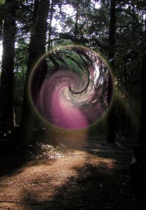 Arte Digital/floresta mágica