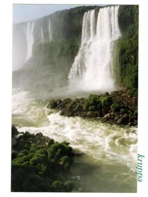Paisagem Natural/O espetáculo das aguas.