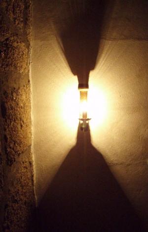 Abstrato/luz e pedra