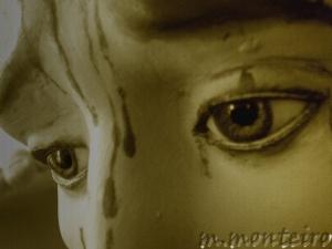 Abstrato/olhos tristes