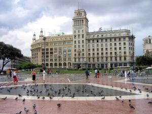 Paisagem Urbana/Praça da Catalunha