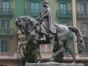 História/Estátua equestre