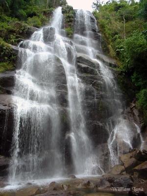 Paisagem Natural/Cachoeira Veu de Noiva - Itatiaia/RJ