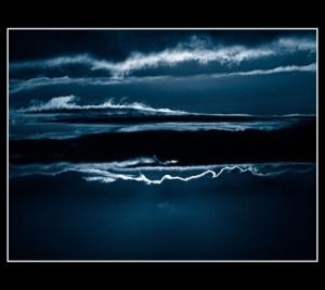 /Nas nuvens....