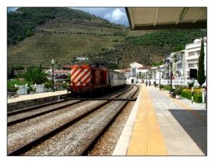 /À espera do comboio...