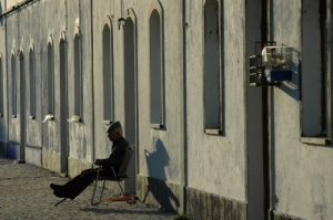 /Sozinho...com o Por do Sol...em Tavira...