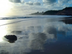 /Espelho na areia...