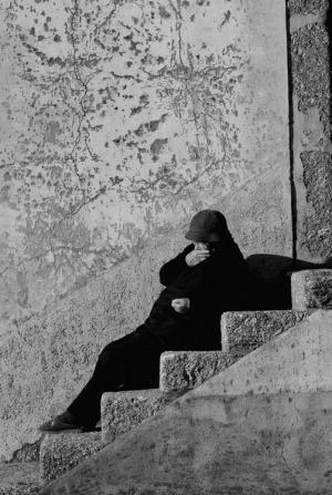 Gentes e Locais/Na escada