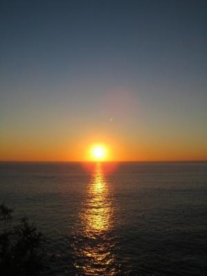 Paisagem Natural/Pôr do Sol em Dezembro...