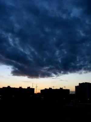 Paisagem Urbana/Pôr do sol III (05-08)