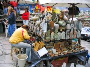 /Mercado de artesanato em Ouro Preto...