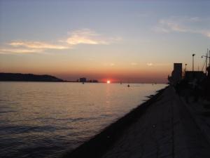 /Por do Sol em Lisboa...