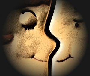 /O amor está no ar...