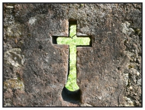 /Uma muralha do Convento de Cristo em Tomar.