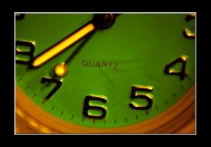 /quelle heure est-il ? ..... quartz