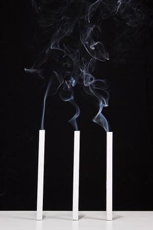 Abstrato/Três Fumos