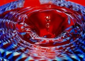 Abstrato/Pingos água_007
