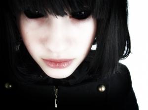 /black eyes