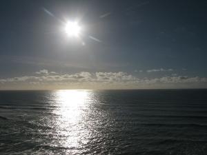Paisagem Natural/O Sol vai alto...