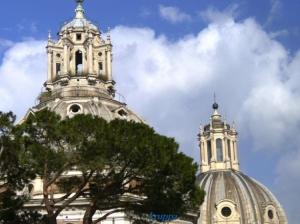 Gentes e Locais/Roma e suas cúpulas.