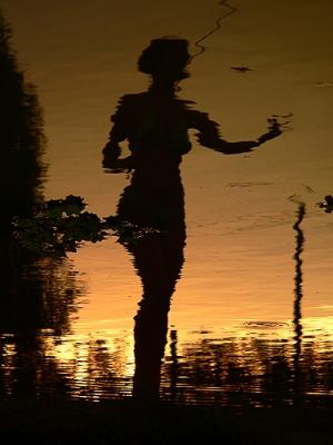 /Musa ao pôr-do-sol