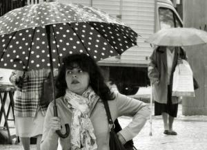 /Retrato à chuva