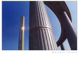 Paisagem Urbana/Colunas com estrela