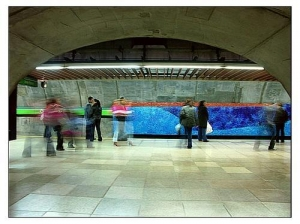 /No metrô