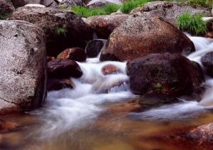 /A pequena cascata