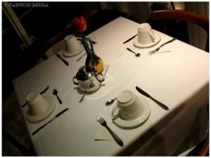 /Mesa do café