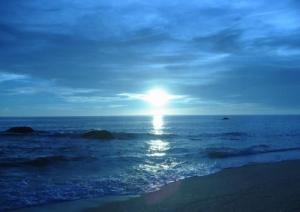 /por do sol...