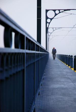 /Nevoeiro na ponte