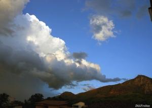 Paisagem Natural/Tromba na nuvem