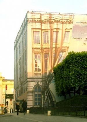 Paisagem Urbana/a casa das cortinas...