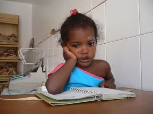 Retratos/Filha de padeira - Cabo Verde