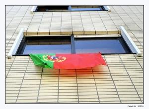 Paisagem Urbana/Bandeira de Portugal